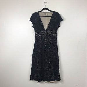 Karen Alexander Boston Proper Black Cocktail Dress